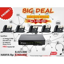 Promo Small Office , S20 with IP Phone Yealink